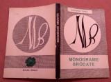 Monograme Brodate -  Ecaterina Tomida, Alta editura, 1969