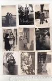 Bnk foto - Lot 20 fotografii Braila 1937-1941, Alb-Negru, Portrete, Romania 1900 - 1950
