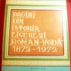 N.Gr.Stetcu si A.Ciobanu- Monografia Liceului Roman-Voda din Roman 1872-1972