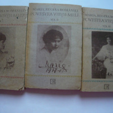 Povestea vietii mele (vol.I-II-III) - Maria, regina Romaniei, Alta editura