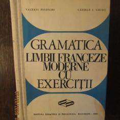 Gramatica Limbii Franceze Moderne Cu Exercitii-Valeriu Pisoschi, George I. Ghidu
