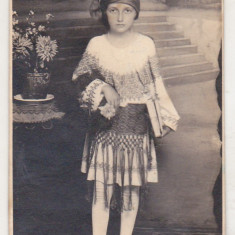 bnk foto - Fata in costum popular - Braila 1929