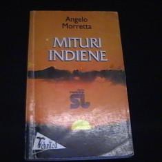 MITURI INDIENE- ANGALO MORRETTA-INTERFERENTE- TRAD.MARA SI FL. CHIRITESCU-375 PG, Alta editura
