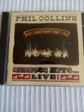 Cd Phil Collins - Serious Hits Live !, original, WEA.