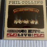 Cd Phil Collins - Serious Hits Live !, original, WEA.
