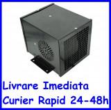 Aeroterma caldura pe baza de apa cu doua ventilatoare de 24V 25x20x20 AL021118-2