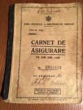 Carnet de Asigurare, 1935-1938
