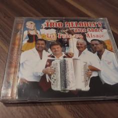 CD TRIO MELODIA'S-LA FETE EN ALSACE RARITATE!!!!ORIGINAL