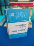 ION COTEANU - GRAMATICA DE BAZA A LIMBII ROMANE , 1982