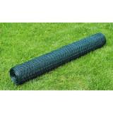 Plasă gard cu izolație PVC 75 cm x 25 m, grosime 1 mm