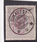ROMANIA 1917   TIMBRU  FISCAL SUPRATIPAR   MVIR