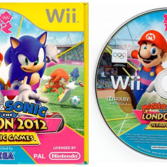 Wii Mario & Sonic London Olympic Games 2012 Nintendo Wii, Wii mini,Wii U, Arcade, 3+, Multiplayer
