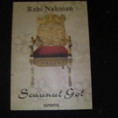 SCAUNUL GOL-RABI NAHMAN-, Alta editura