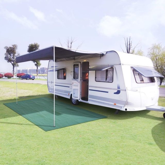 Covor pentru camping, 300 x 500 cm, verde