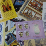 FRANCATURA 55% din  valoarea nominală timbre Romania serii, colite, MNH, Nestampilat
