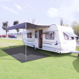 Covor pentru camping, 250 x 600 cm, antracit