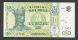 MOLDOVA  20  LEI  2004   [1]   P-13f  ,  VF+