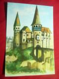 Ilustrata Hunedoara - Castelul Huniazilor - Posta Copiilor, Necirculata, Printata