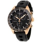 Ceas Tissot PRS 516 negru auriu cronograf barbatesc