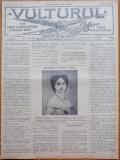 Ziarul Vulturul , foaie pentru educatie nationala ,nr. 124 din 1909 , Elena Cuza