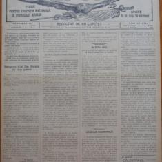 Ziarul Vulturul , foaie pentru educatie nationala , nr. 120 din 1909