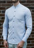 Camasa tunica bleu - camasa slim fit - camasa barbati - camasa in