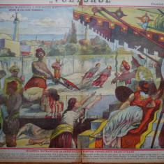 Ziarul Vulturul , nr. 36 din 1906 , cromolitografie ; Constantin Brancoveanu