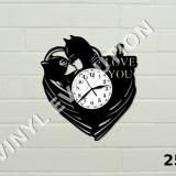 Ceas de perete din vinil Batman