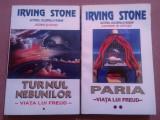 Viata Lui Freud. 2 Volume; Turnul Nebunilor si Paria - Irving Stone