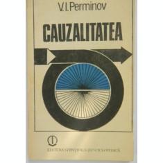 V. Perminov CAUZALITATEA IN FILOSOFIE SI STIINTA