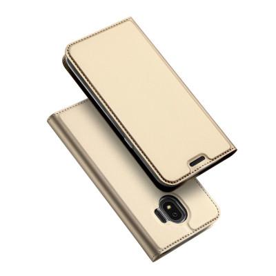 Toc DuxDucis Skin Samsung J4/2018 Auriu foto