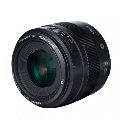 Obiectiv Yongnuo YN 50mm f1.4 pentru Nikon E foto