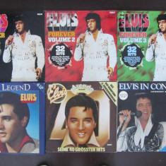10 Elvis Presley Disc-Discuri Duble Vinil-Vinyl Lot-Colectie - Oldies-Rock