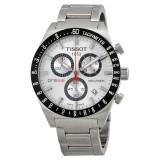 Ceas Tissot PRS 516 barbatesc cronograf ecran alb