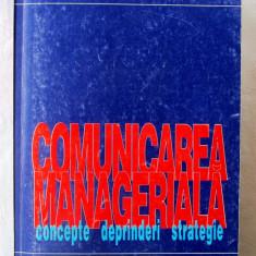 """""""COMUNICAREA MANAGERIALA. Concepte. Deprinderi. Strategie"""", R. Candea, 1996"""