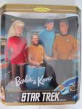 Barbie & Ken Doll-Papusa -Star Trek- Gift Set-Collectors Edition- Nou -1996
