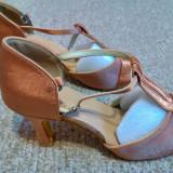 Sandale (pantofi) de dans maro marimea 37 - noi!, Bej