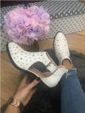 Pantofi dama albi 39+CADOU, Din imagine, Cu talpa joasa