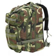 Rucsac în stil militar, 50 L, model camuflaj