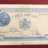 5000 lei 22 august 1944