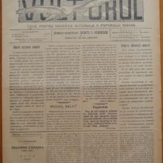 Ziarul Vulturul , foaie pentru educatie nationala , nr. 72 din 1907 ; Publicatii