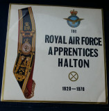 (6) DISC VINIL - THE ROYAL AIR FORCE HALTON APPRENTICES - JUBILEE-HALTON