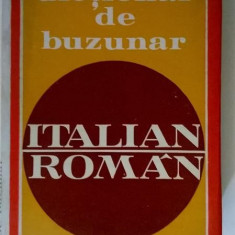 V. Ani, D. Condrea-Derer - Dictionar de buzunar italian-roman