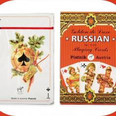 Cărți de joc  de lux Rusia. Piatnik.
