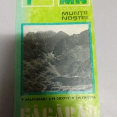 Muntii nostri - Fagaras - nr.1 - cu harta