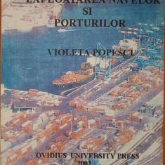 EXPLOATAREA NAVELOR SI PORTURILOR - Violeta Popescu