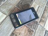 Cumpara ieftin LG KP500 Cookie defect - pentru piese placa de baza touchscreen conector difuzor, Negru, Neblocat, Smartphone