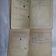 Lot 2 livrete militare,livret militar 1959 oras Stalin/1961 Braila T.GRATUIT