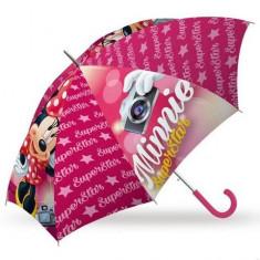 Umbrela manuala Minnie Superstar 70 cm