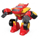 Masinuta transformabila 2 in 1 Blaze Robot Rider Blaze si Masinile Uriase